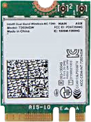 photo Carte réseau Intel® M.2 WIFI AC-8265 NGW