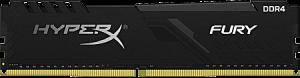 photo Mémoire de 4 Go DDR4 @ 2666 MHz Kingston Fury Black