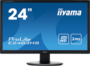 photo Ecran plat LED TN 24 pouces 1920 x 1080 Multimédia HDMI