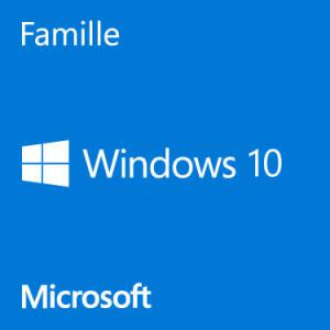 photo Microsoft Windows 10 Famille - 64 bits FR