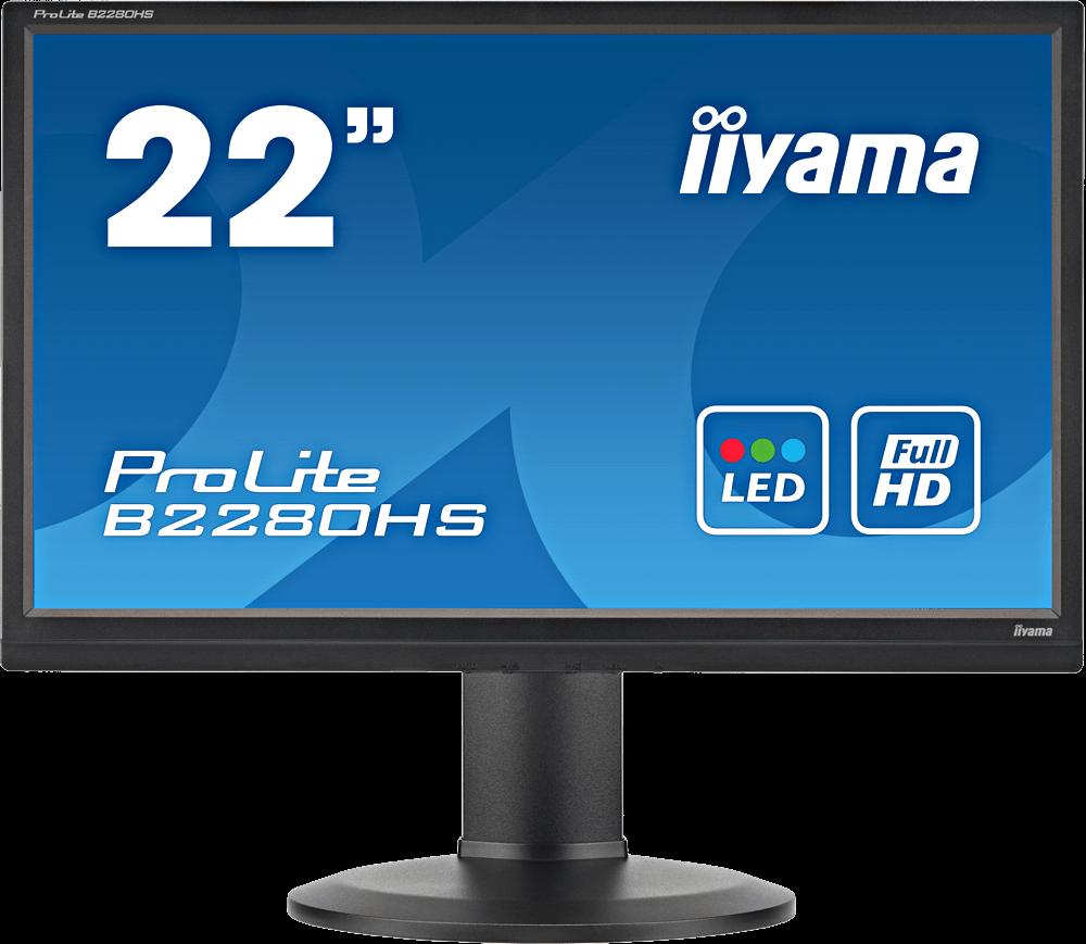 Ecran plat LED 22 1920 x 1080 Multimédia TN - HDMI1