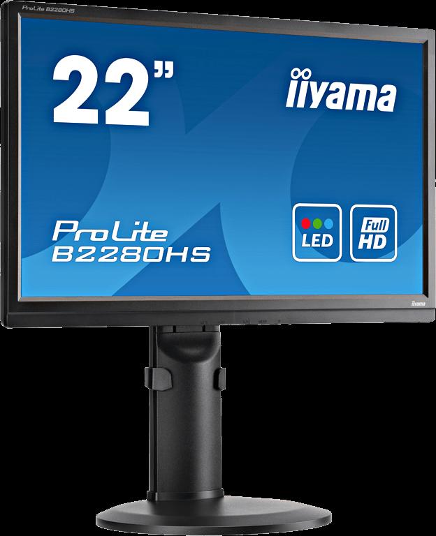 Ecran plat LED 22 1920 x 1080 Multimédia TN - HDMI - Display3